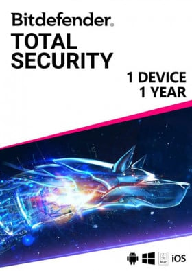 Bitdefender Total Security (1 Device / 1 Year)