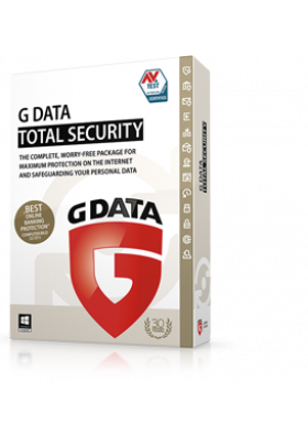 G DATA TOTAL SECURITY 3 PC / 1 YEAR