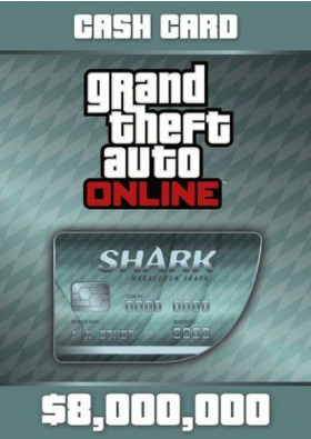 Grand Theft Auto Online Prepaid - $8,000,000