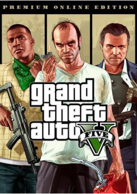 Grand Theft Auto - GTA V - Premium Online Edition