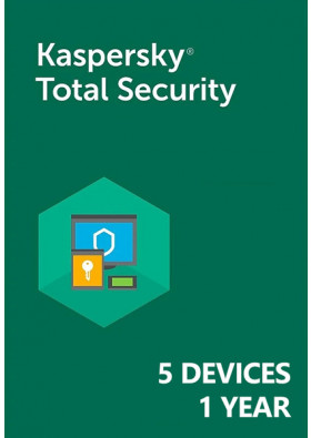 Kaspersky Total Security (5 Devices / 1 Year)