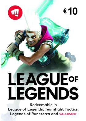League of Legends Pre-paid - 1380 Riot Points / 950 Valorant Points (EU West)