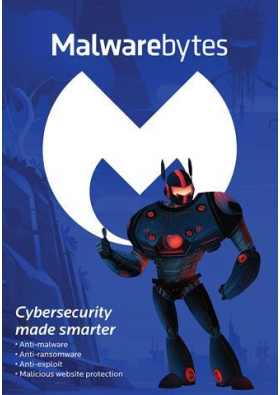 Malwarebytes MBAM Anti-Malware Premium 5 USER / 1 YEAR