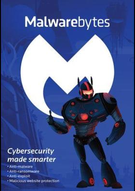 Malwarebytes MBAM Anti-Malware Premium 1 USER / 1 YEAR