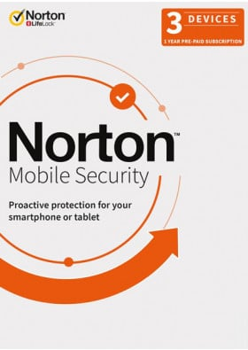 Norton Mobile Security (1 Device / 1 Year)