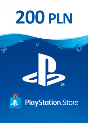 PlayStation Network Prepaid 200 PLN - PL