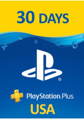 PlayStation Plus Prepaid - 30 Days - USA