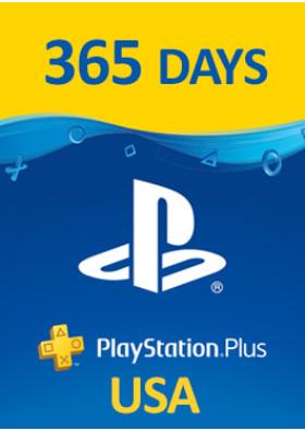 PlayStation Plus Prepaid - 365 Days - USA