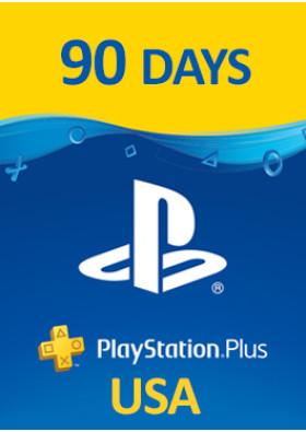 PlayStation Plus Prepaid - 90 Days - USA