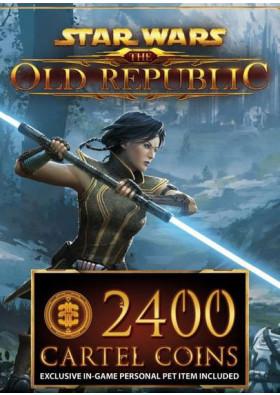 Star Wars: The Old Republic Prepaid - 2400 Cartel Coins