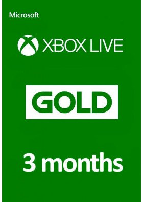 Xbox Live Gold 3 Months