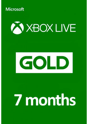Xbox Live Gold 7 Months