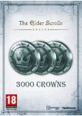 The Elder Scrolls Online Tamriel Unlimited 3000 Crowns