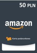 Amazon Pre-paid - 50 PLN - PL