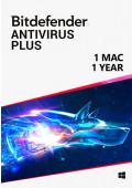 Bitdefender Antivirus (1 Mac / 1 Year)