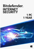 Bitdefender Internet Security (1 PC / 1 Year)