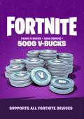 Fortnite 5000 V-Bucks Gift Card