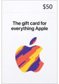 iTunes $50 Prepaid Card - USA