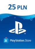 PlayStation Network Prepaid 25 PLN - PL