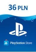 PlayStation Network Prepaid 36 PLN - PL