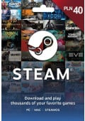 Steam Wallet Prepaid - 40 PLN