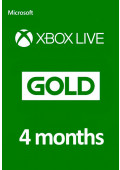 Xbox Live Gold 4 Months