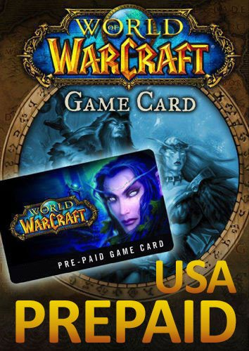 World of Warcraft 30 Day Pre-Paid Time Card - US